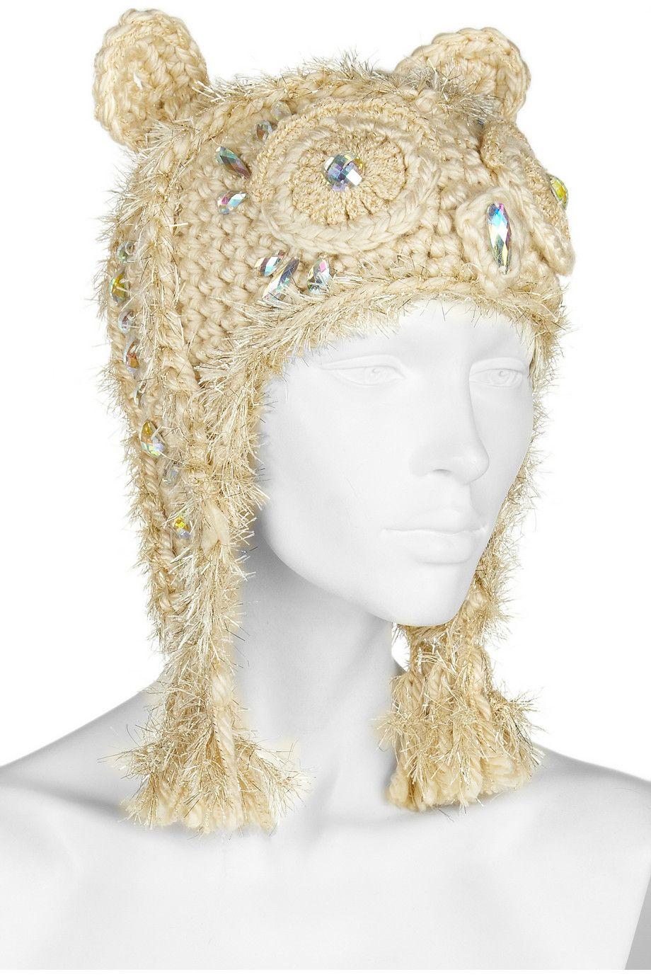 Anna Sui | Embellished crocheted owl hat | Accesorize it | Pinterest ...
