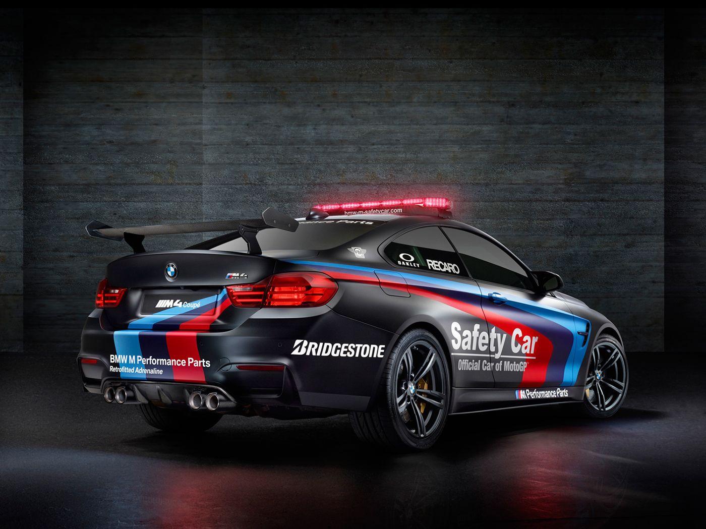 BMW M GmbH Official MotoGP M4 Safety Car 2015 on Behance