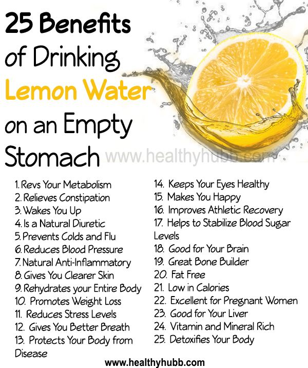 25 Incredible Benefits Of Drinking Lemon Water On An Empty