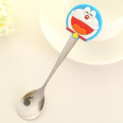 2 pieces hot water sense baby a spoon spoons children dishes Tableware for children colher cutlery Spork tablespoons TCJ13
