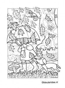 ben horsthuis coloring sheetsadult - Umbrella Coloring Pages 2