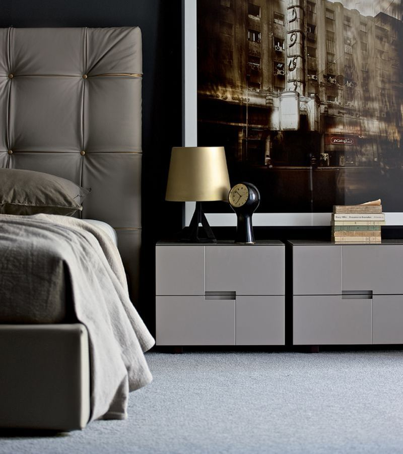 Best 22 Sleek Modern Nightstands For The Bedroom Bedroom 640 x 480