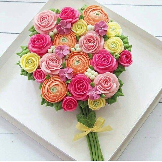 Birthday Cake Flowers At Send Flowers Happy Birthday Flower
