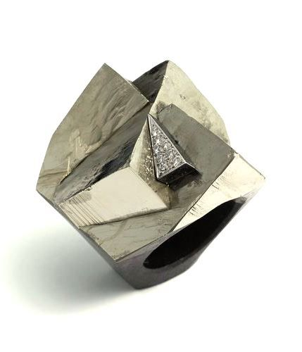 Grima Creations PYRITE RING 2013 Rings Rings Rings Pinterest