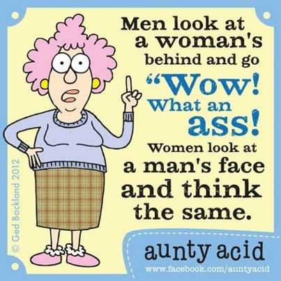 Auntie Acid\u0027s View On Men Funny News Bloopers And A Really Funny