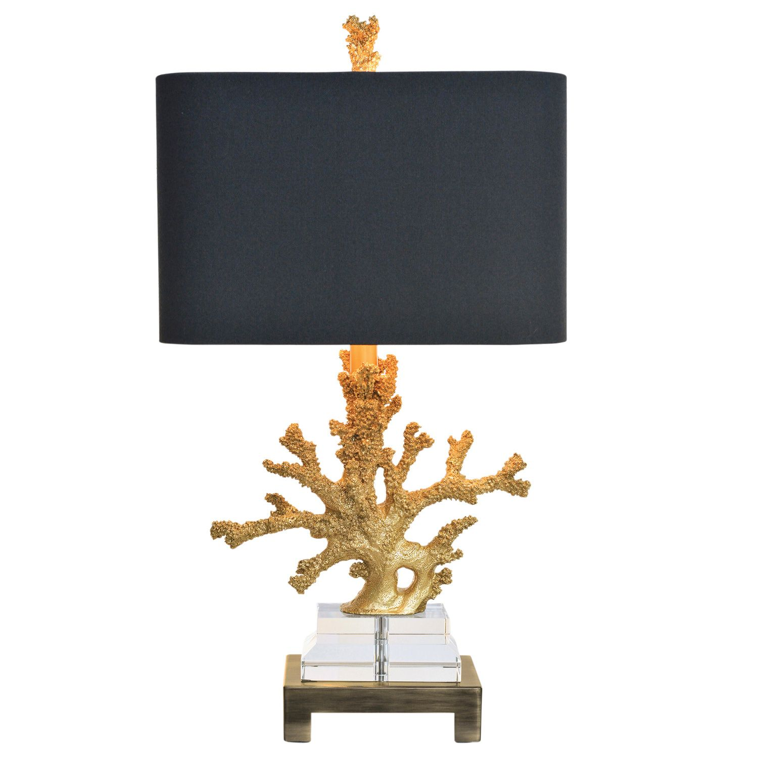 Couture Lamps Coral Gold Table Lamp LaylaGrayce