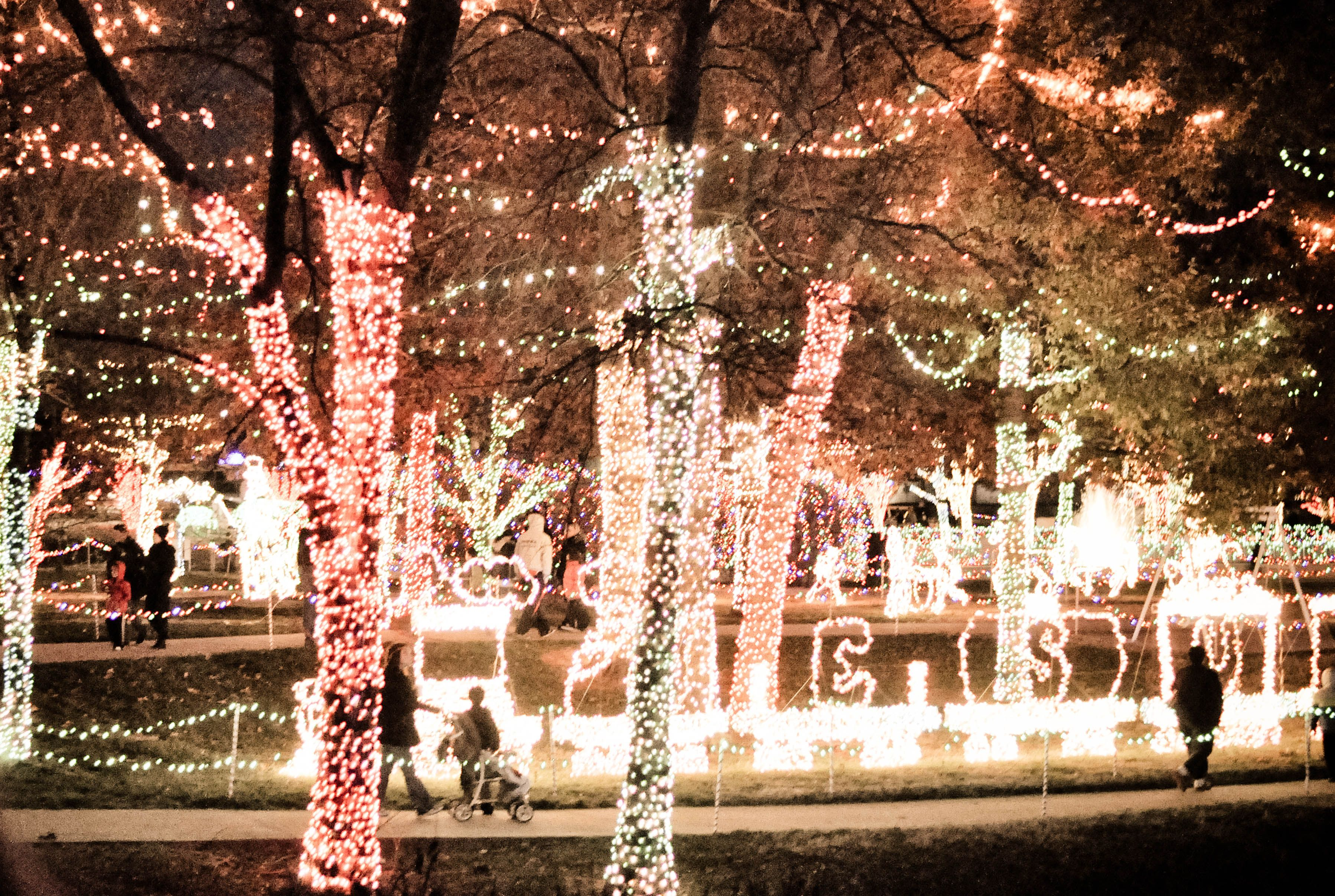 Rhema Christmas Lights--Broken Arrow, OK I always loved going to ...