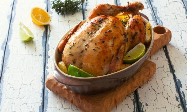 Poulet r ti miel et citron la meilleure fa on de cuire - Cuisiner un poulet roti ...