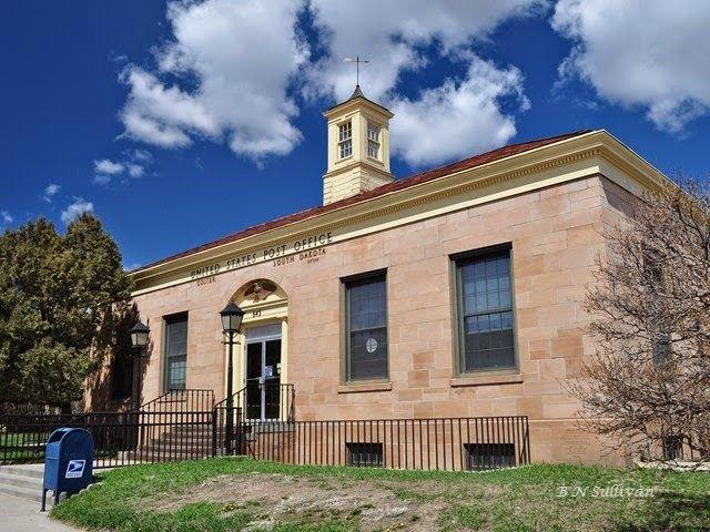Post Office Custer South Dakota Post Office Custer Photo