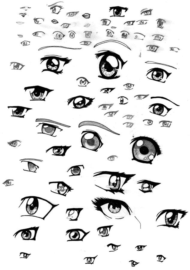 Anime Eye Styles Pick Your Fav And Practice Anime Eyes Cute Eyes Drawing Manga Eyes
