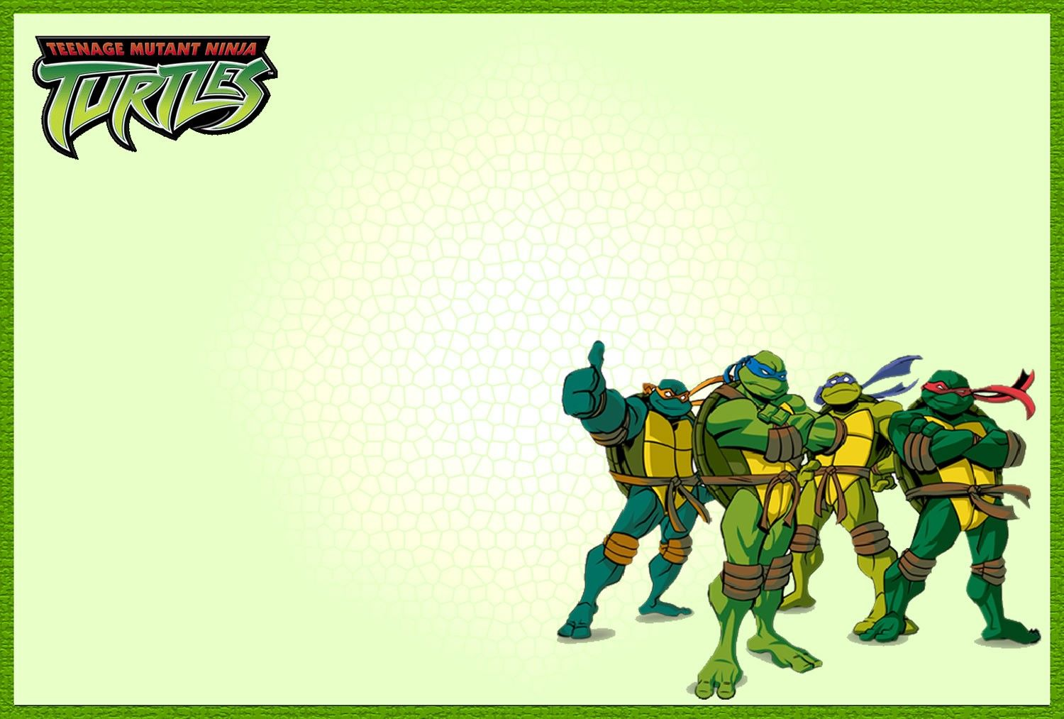 Teenage Mutant Ninja Turtle Invitation Template