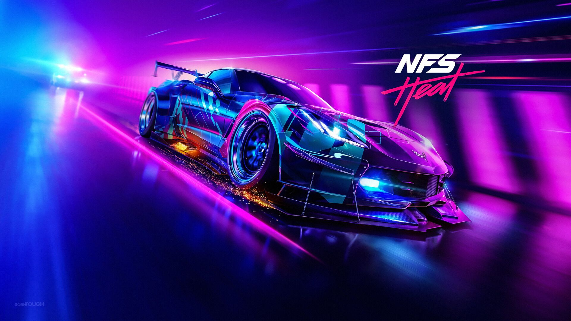 Artstation Nfs Heat 4k Wallpapers Agentough Need For Speed Games Need For Speed Speed Games