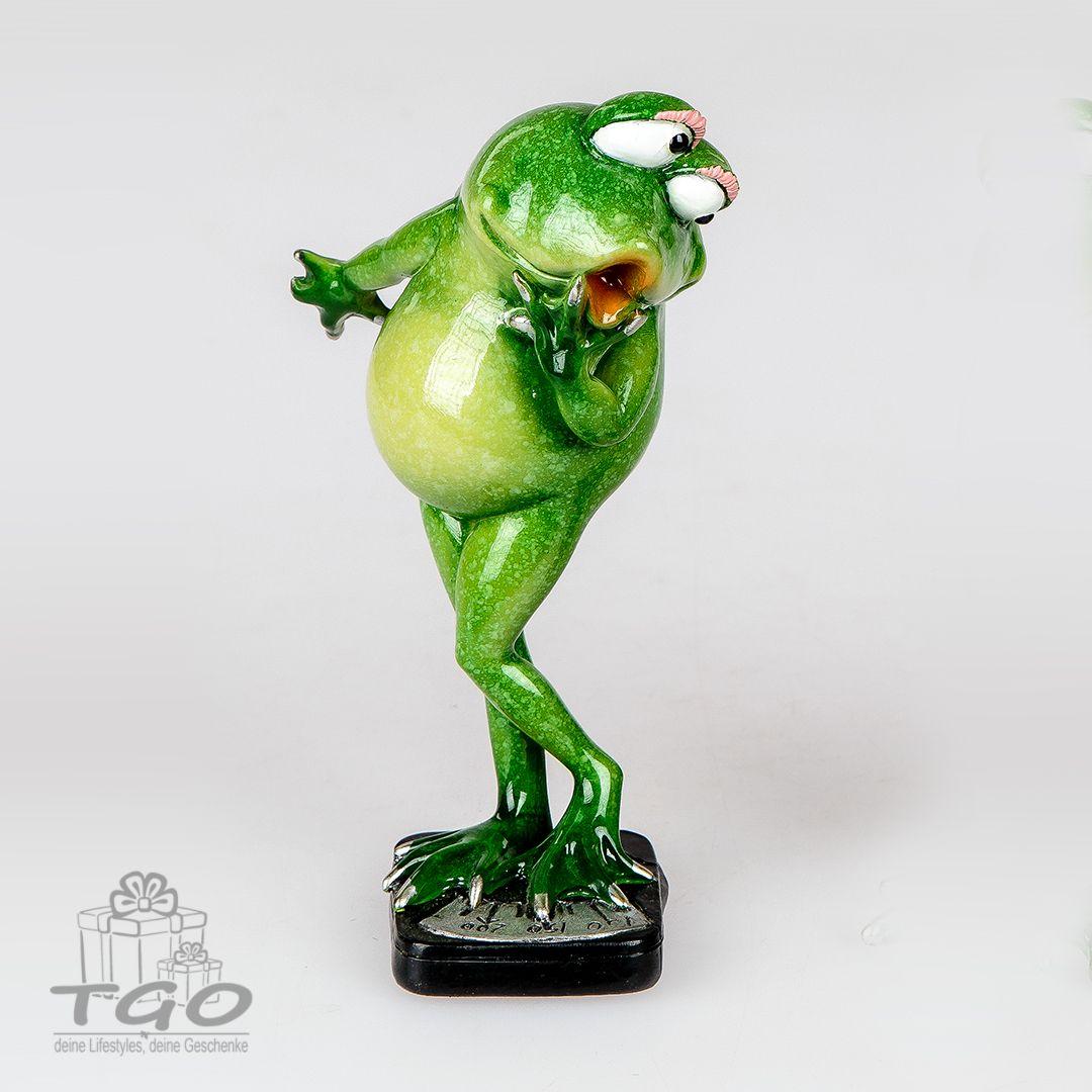 Formano Dekofigur Frosch Rudi Auf Waage 17cm Frosche Waage
