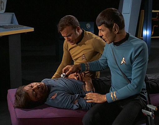 I have never seen an actor who could make himself as vulnerable as DeForest Kelley could. He could act physically broken or emotionally wounded like no one else.
