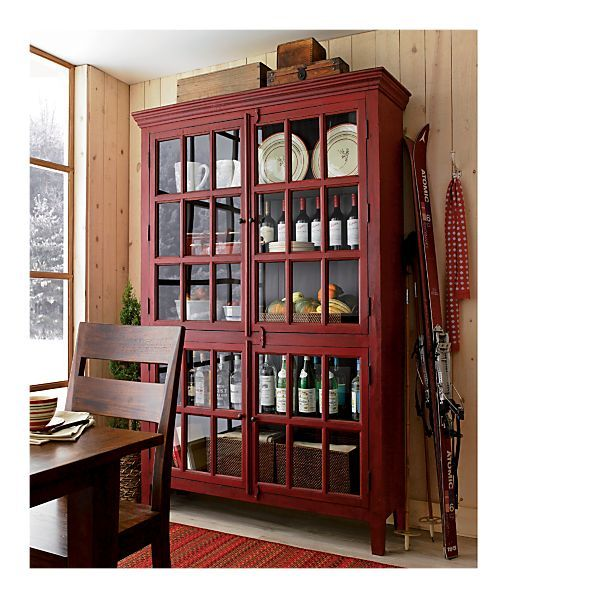 What To Do With My China Cabinet Besides Name Him Rojo