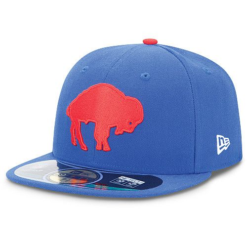 Men s New Era Buffalo Bills On Field Classic 59FIFTY® Football Structured  Fitted Hat - NFLShop 24c582475f5