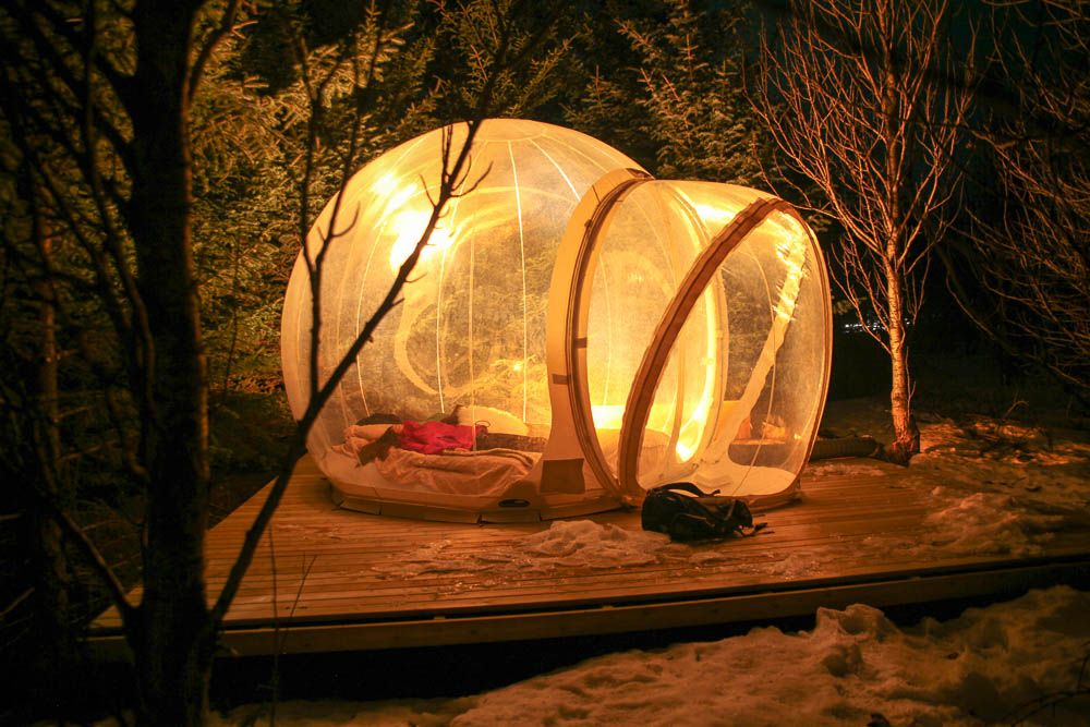 The Aurora Bubble Iceland A 5 Million Star Hotel Pohtecktoes