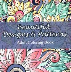 The Beautiful Designs and Patterns Adult Coloring Book is full of original, detailed designs and patterns for you to relax and color. Color the intricate designs and find yourself more vibrant, centered, and at peace.