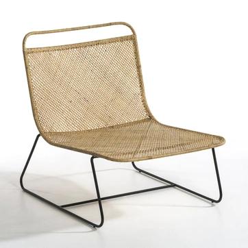 Lounge Fauteuil Gevlochten Theophane Design E Gallina Am Pm Fauteuils Poef In 2020 Buitenstoel Meubel Ideeen Fauteuil