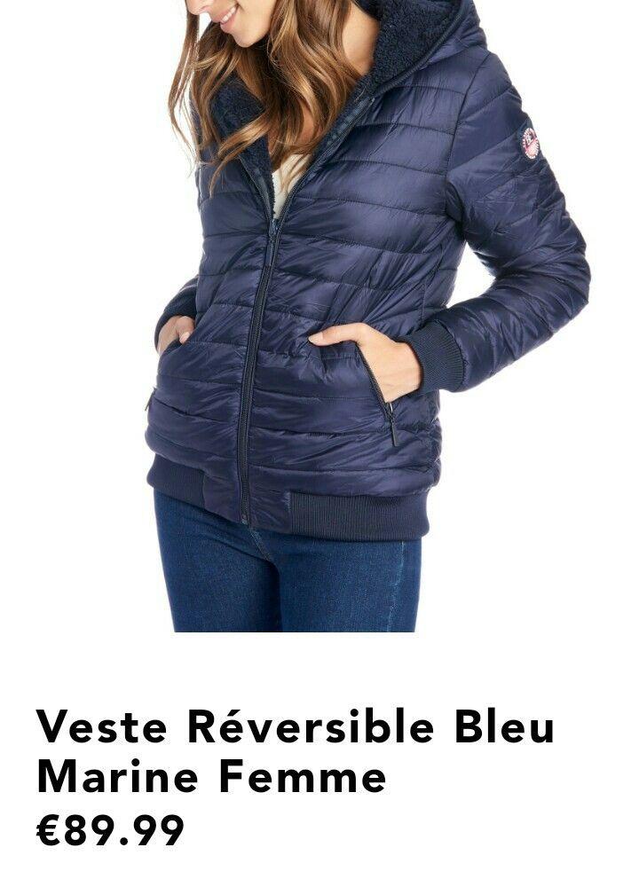 Begummy Réversible Veste S Veste Réversible Taille wtxTq4tE0 46051cac50a