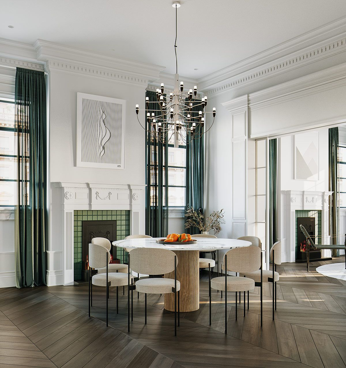 3 Ultra Modern Takes on Neoclassical Interior Inspiration ...
