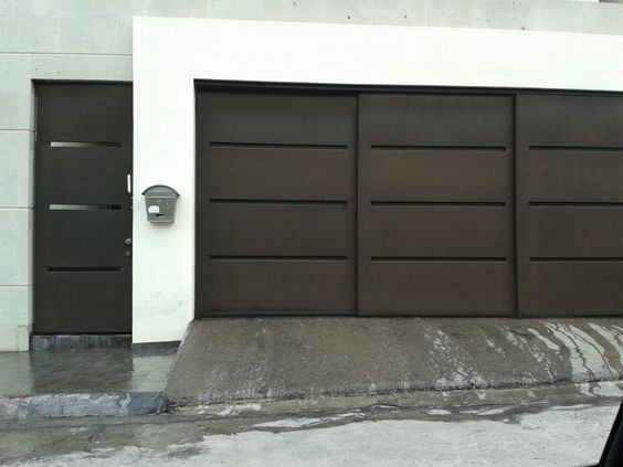 Resultado de imagen para portones modernos 2016 puertas - Puertas para garage ...