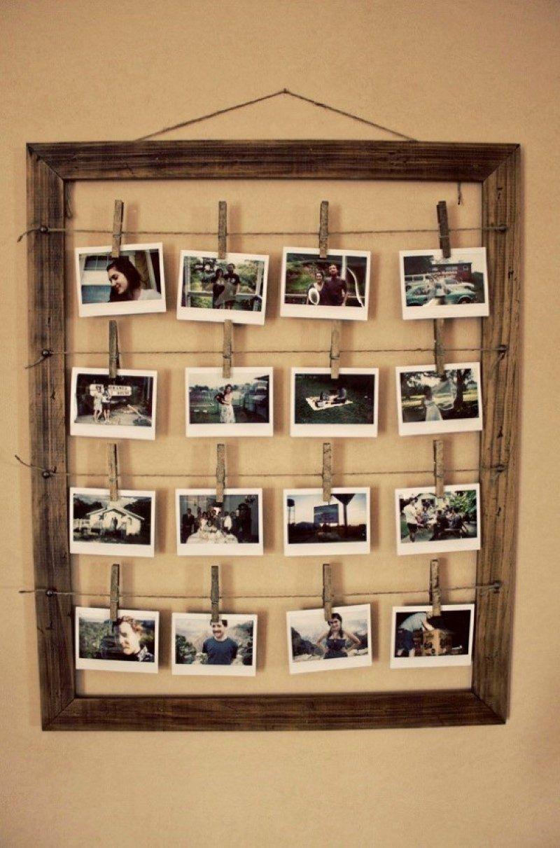 deko mit erinnerungen 11 ideen mit denen sie fotocollage selber machen inspiration. Black Bedroom Furniture Sets. Home Design Ideas