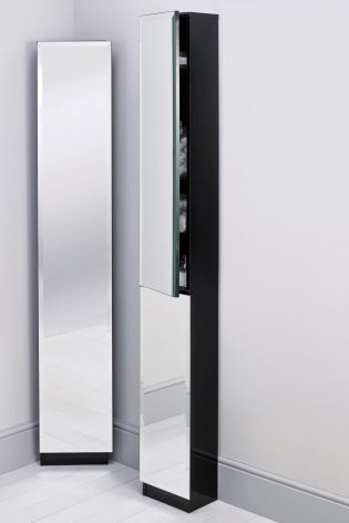 Buy Mirrored Corner Tallboy From The Next Uk Online Shop Tall Bathroom Storage Bathroom Storage Cabinet Slim Bathroom Storage
