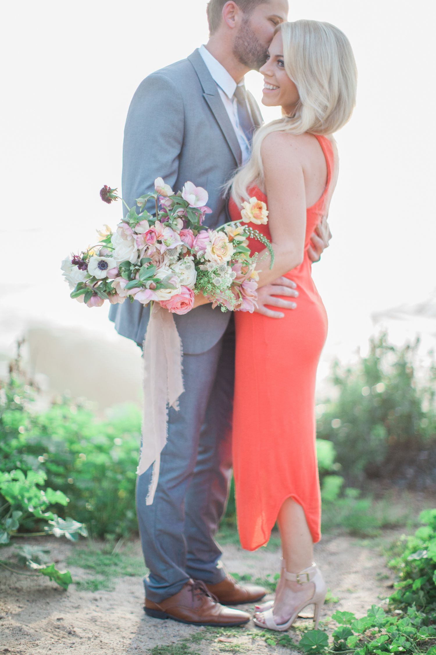 The Groom Wrote a Love Song For This Oceanside Engagement