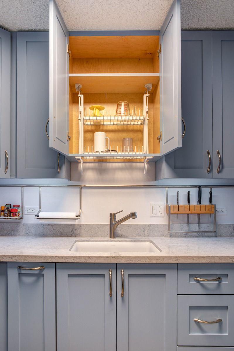Cabinet Dish Rack Hidden Dish Rack European Dish Drying Rack Drip Dry In 2020 Inside Kitchen Cabinets Dish Rack Drying Kitchen Cabinets