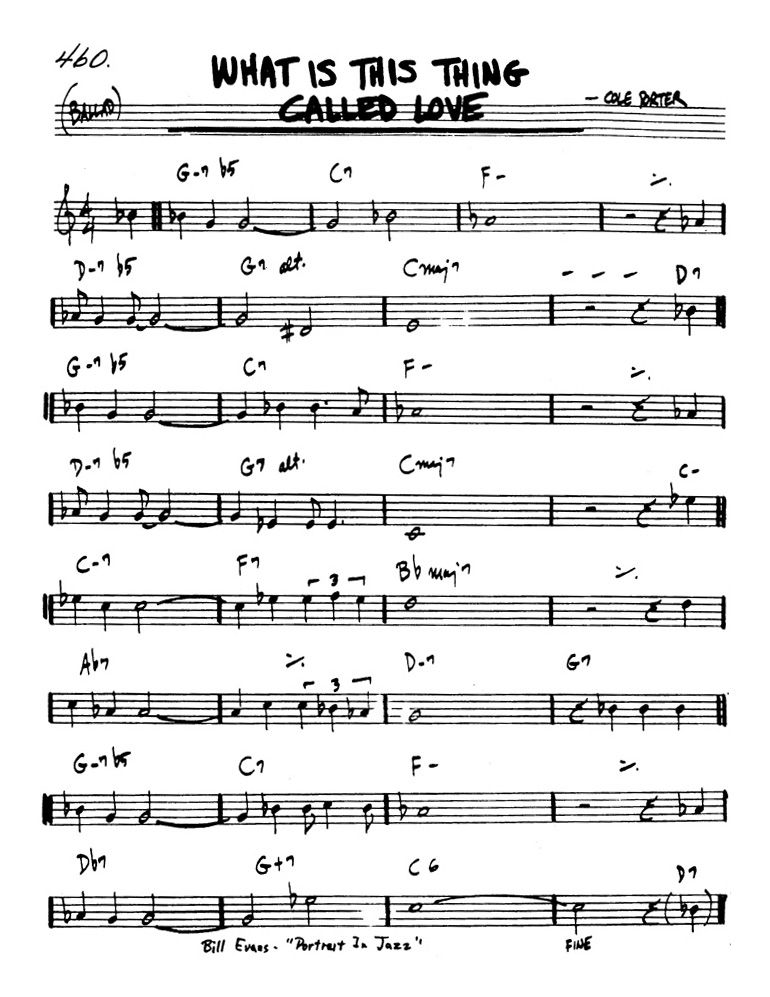 Lyric cole porter lyrics : What Is This Thing Called Love - Cole Porter | Music Tabs ...
