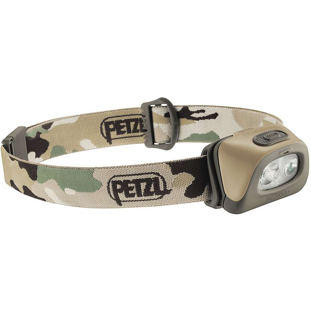 Compact headlamp ideal for hunting and fishing PETZL Tactikka Plus RGB 2017