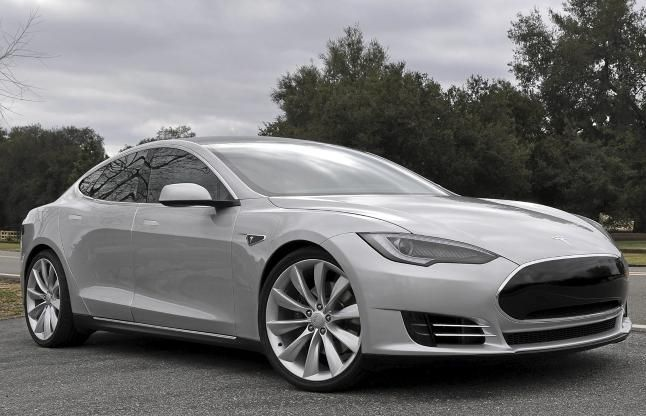Throw a little hot-rod red in there | Tesla model s, Tesla ...