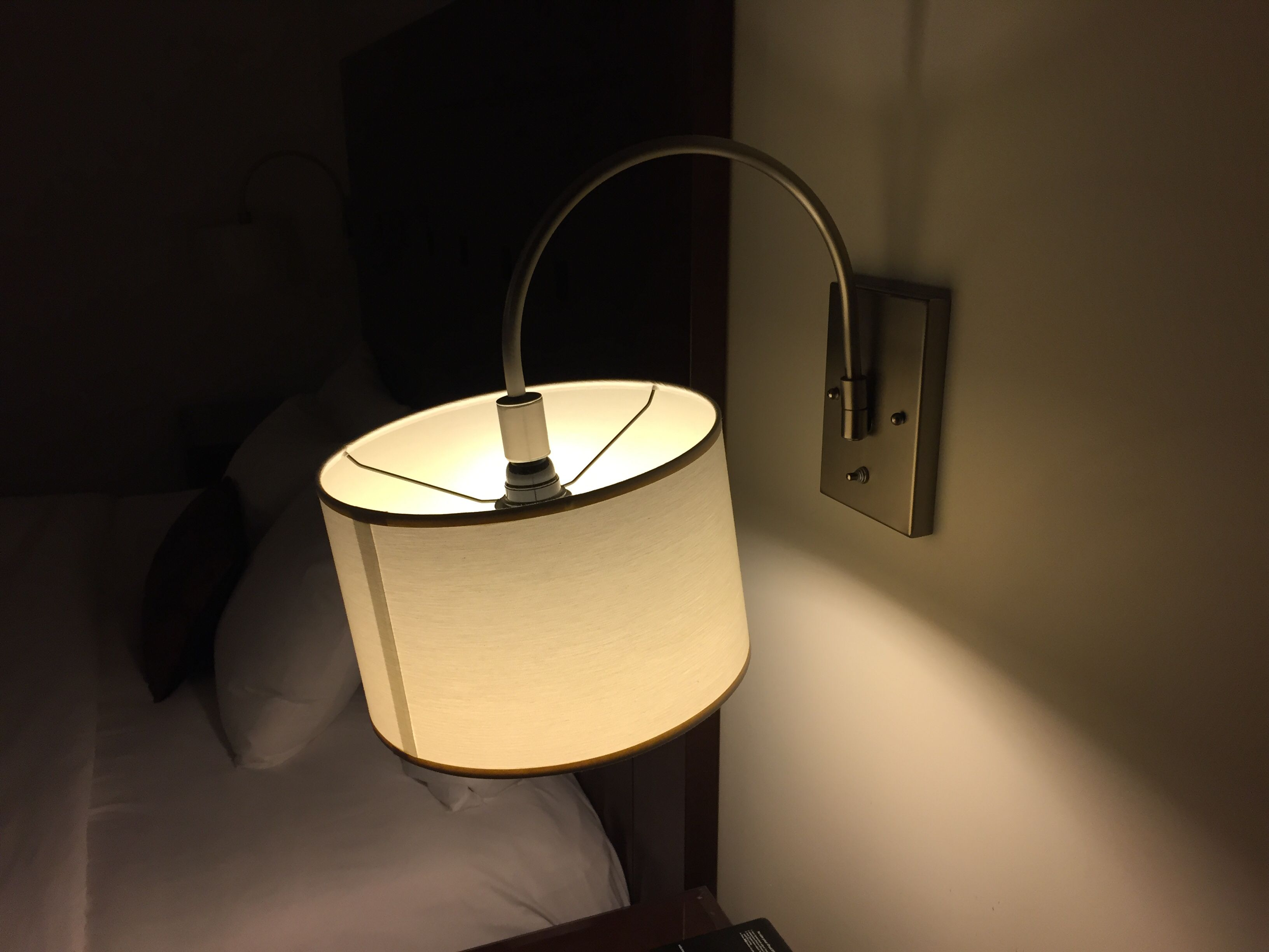 In-Wall wired lamps