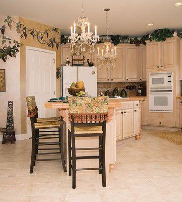 Grape Vine Decor Kitchen