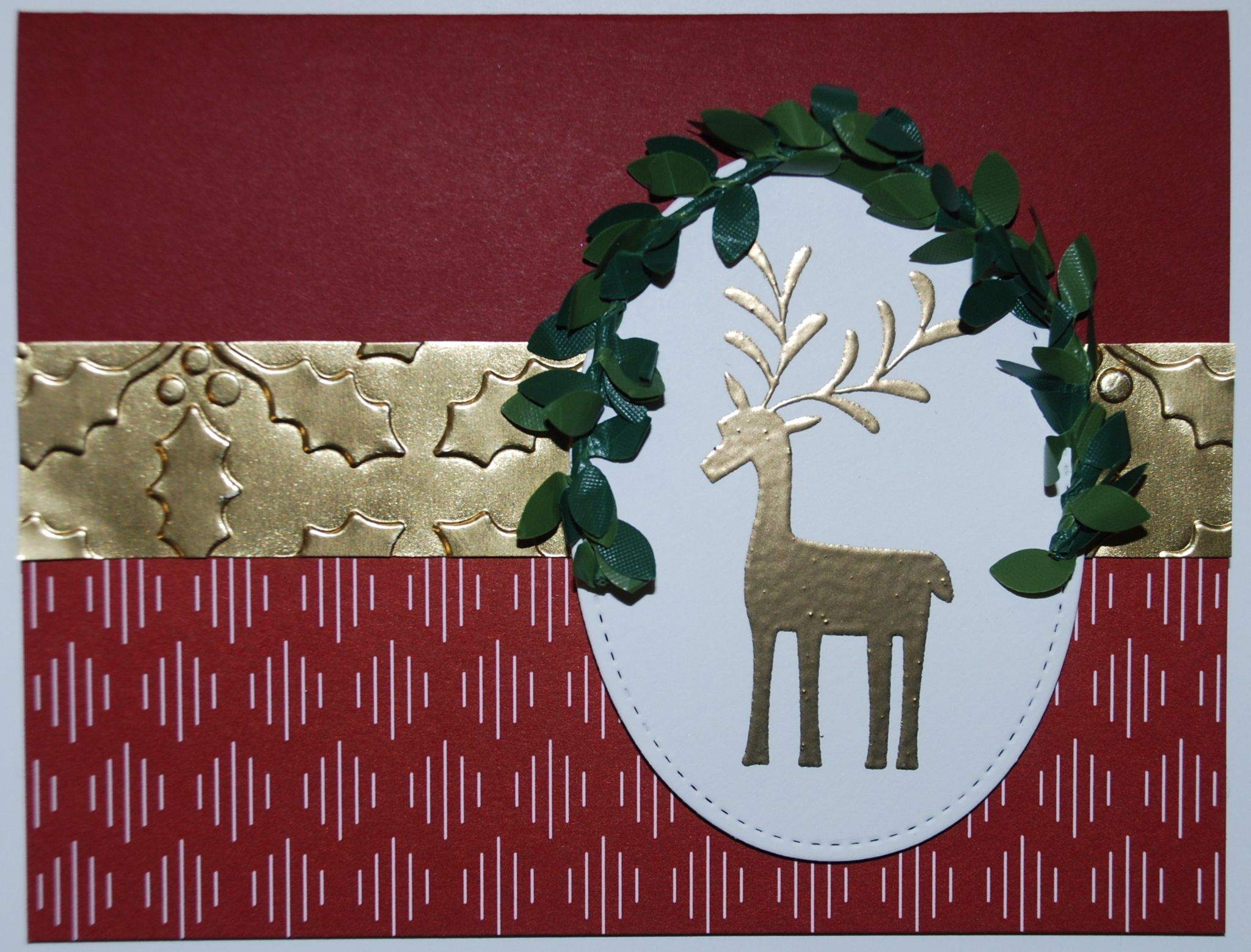 Stampin' Up! - Christmas Card - Be Merry Suite - Merry Mistletoe ...