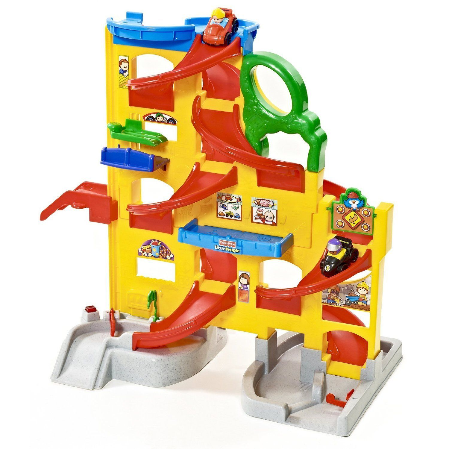 Little people car toys  FisherPrice Little People Wheelies Stand and Play Rampway Playset