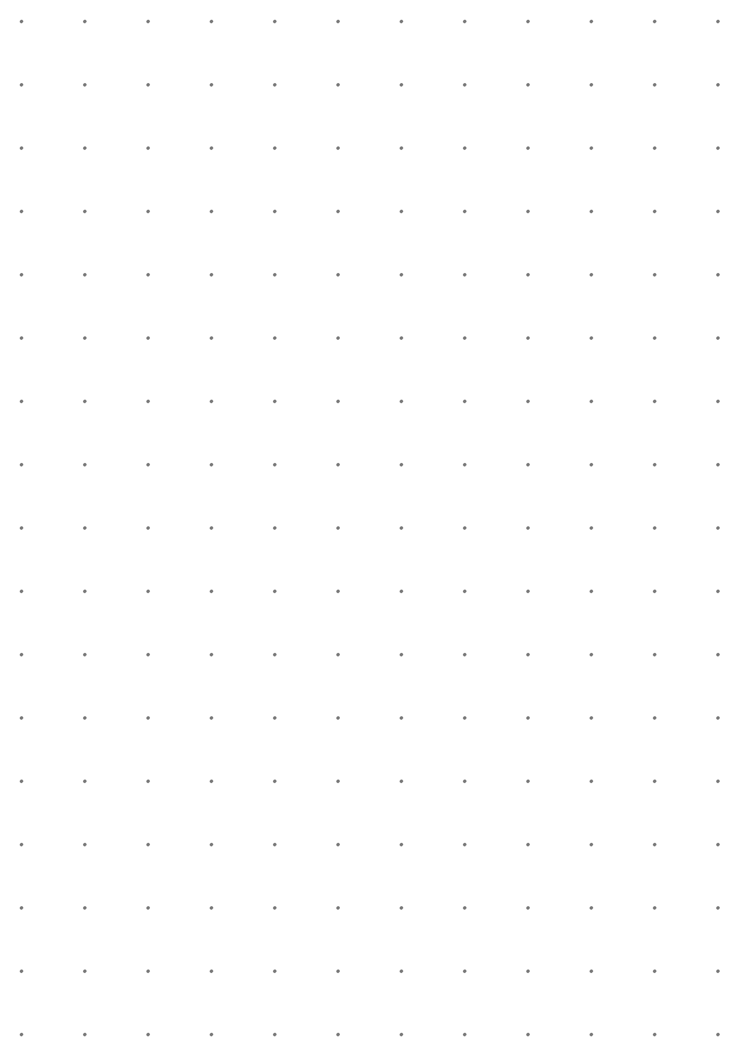 Printable Dot Grid Paper With 2 Dots Per Inch Pdf Download Grid Paper Grid Paper Printable Paper Templates Printable