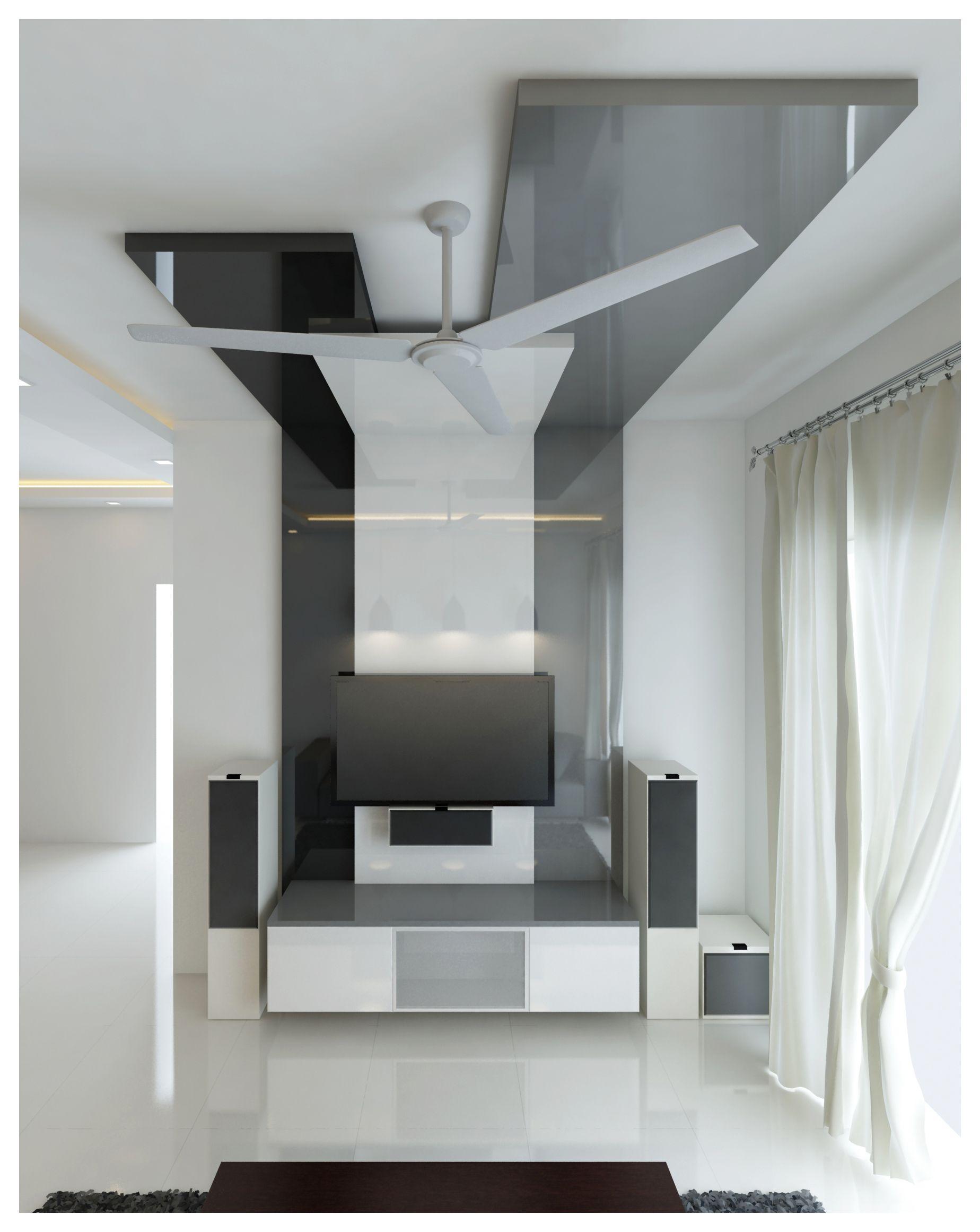 Lcd Unit Design Modern Tv: Idea By Neeraj Sharma On Ceiling Designs