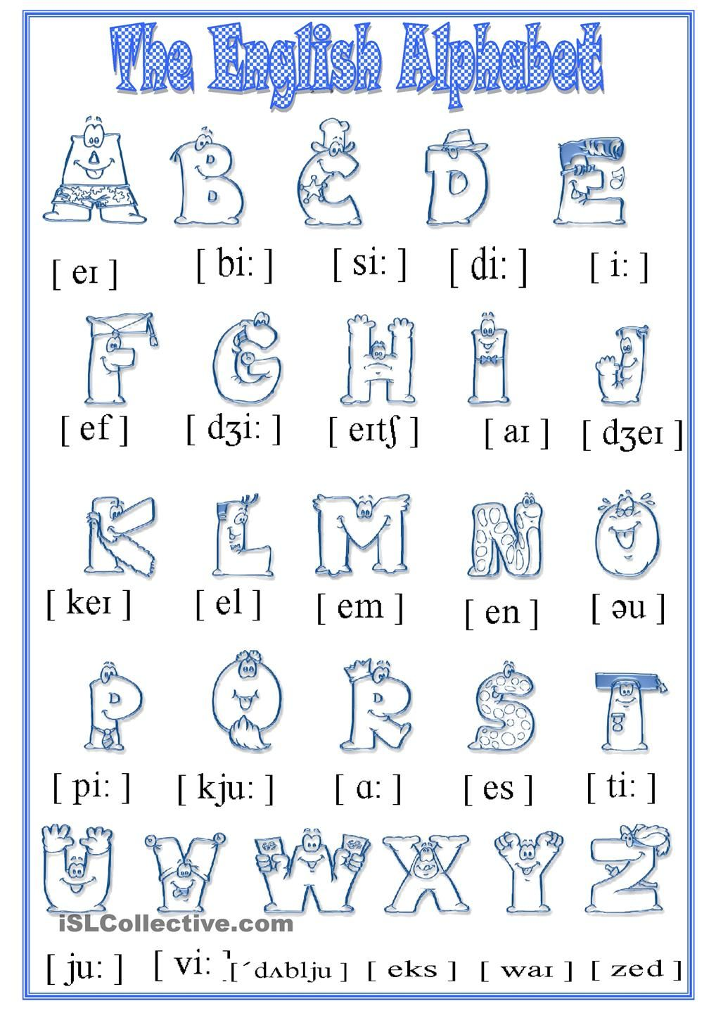 Alphabet  School b do b do  Pinterest  Student-centered  grade worksheets, math worksheets, education, multiplication, alphabet worksheets, and learning Phonetic Alphabet Worksheet 1440 x 1018