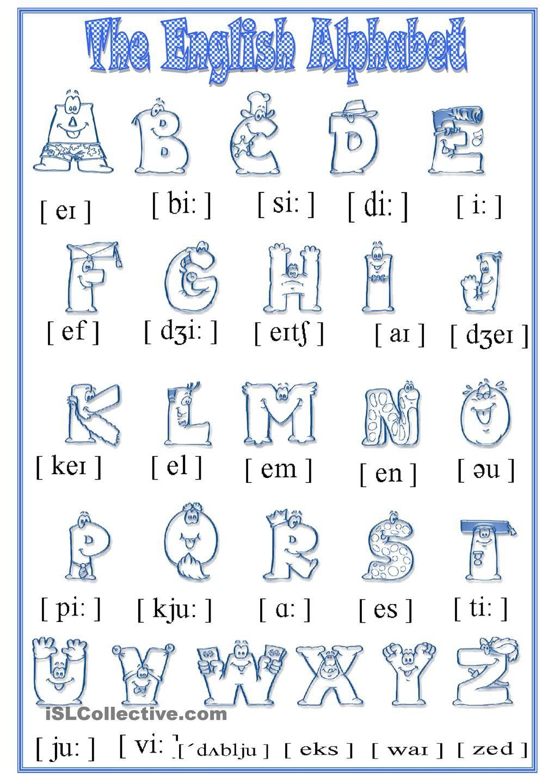 Free alphabet worksheets for esl adults