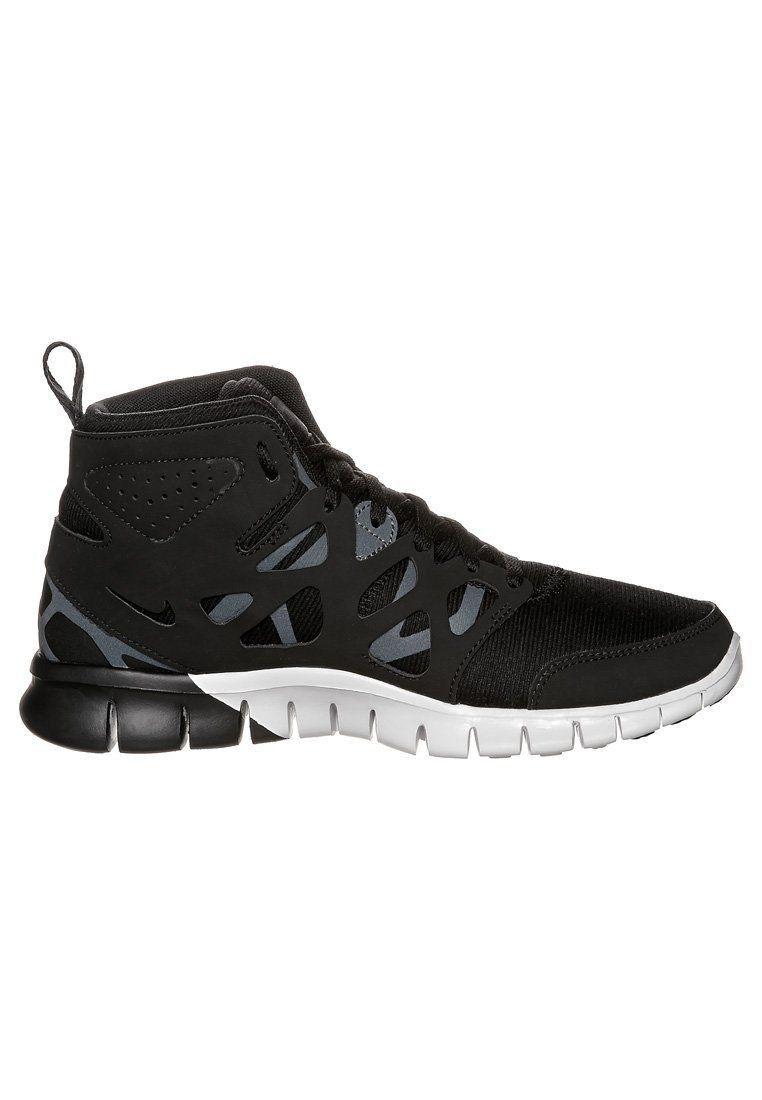 Nike Free Run 2 Mid - Running for women shoes - black/white HOT SALE