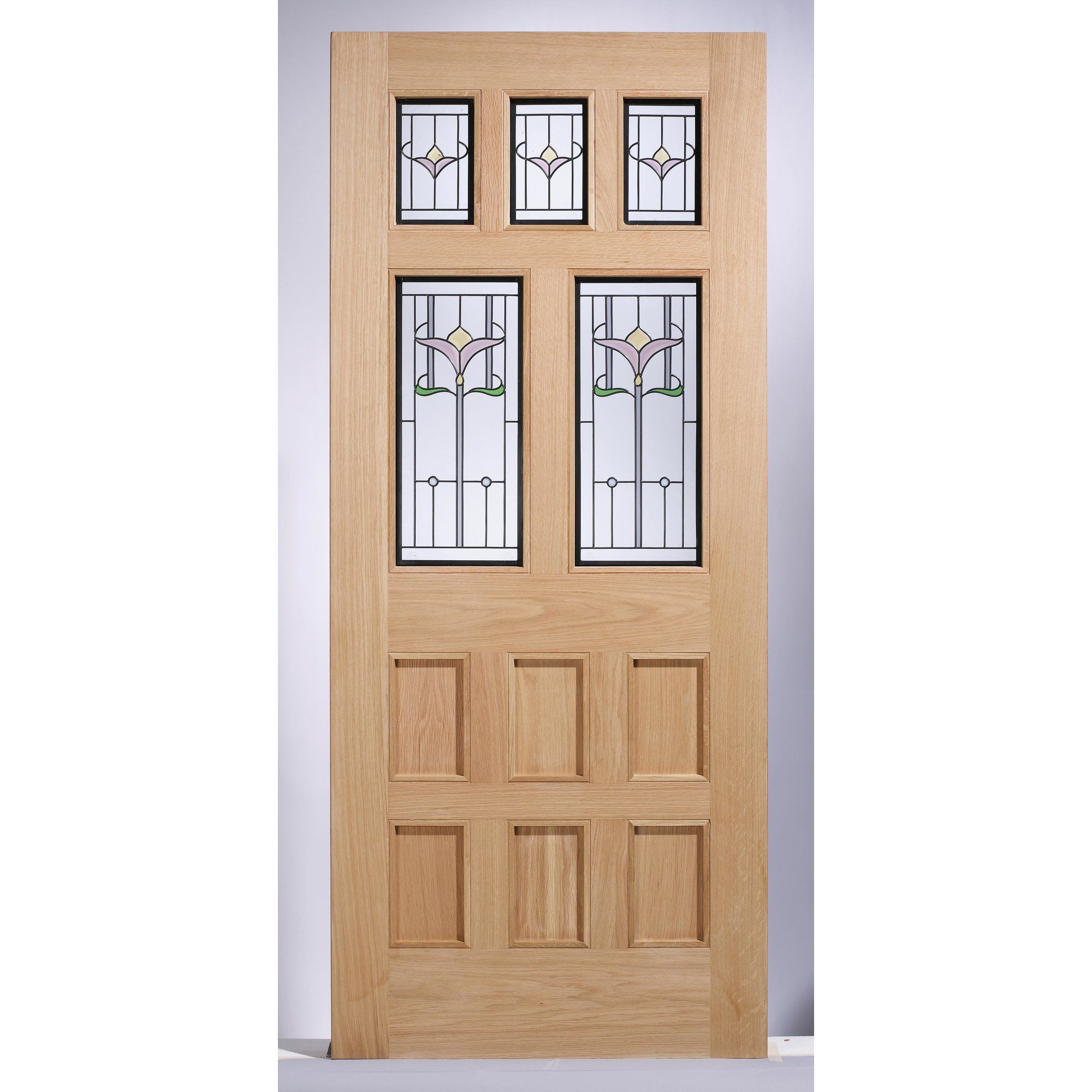 Wood Glazed External Door Glazed external doors