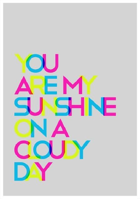 You are my sunshine on a cloudy day poster for nursery giggle you are my sunshine on a cloudy day poster for nursery colorful quotesdo it yourself projectscloudy solutioingenieria Images