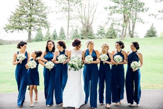 40+ Jumpsuits Look for Bridemaids Ideas #bridesmaidjumpsuits