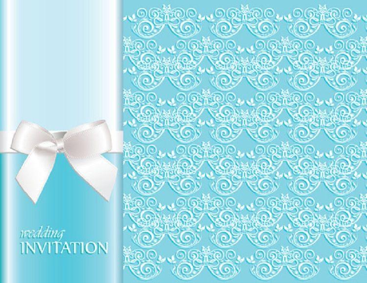 Blue Wedding Invitation Background: Blue Wedding Invitation Background Designs