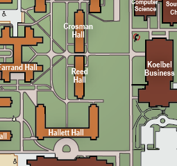 Campus Map University Of Colorado At Boulder Asl Campus Map