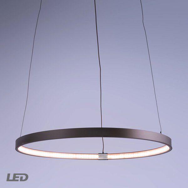 ELARO 400 LED Pendelleuchte 15W 3000K Silber | Led pendelleuchte ...