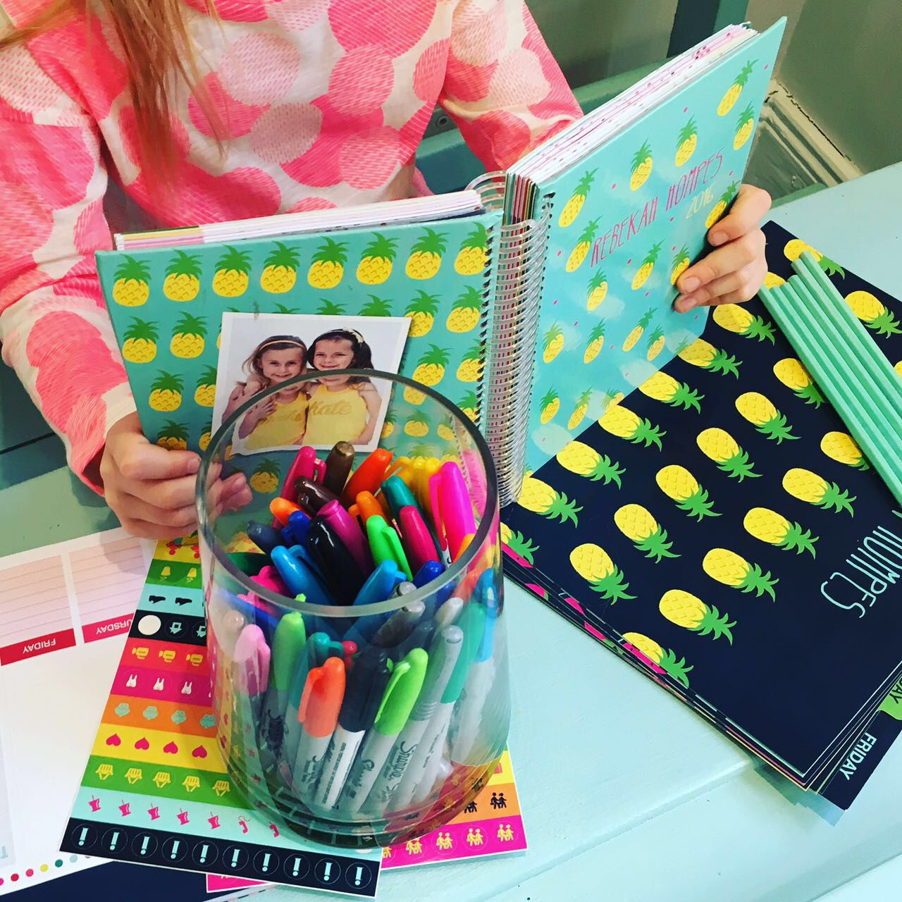 Personalized diary and personalized folders from macaroon.co.za