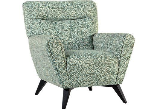 Fabulous Sofia Vergara Catalina Ocean Accent Chair Blue Accent Inzonedesignstudio Interior Chair Design Inzonedesignstudiocom